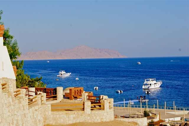 Shark's Bay is also nearby, a Bedouin Village and a growing resort community with views of Tiran Island and the coral reefs in the narrow strait.